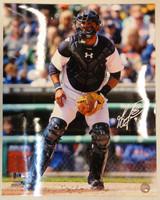 Gerald Laird Autographed Detroit Tigers 16x20 Photo #1
