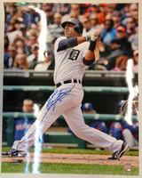 Gerald Laird Autographed Detroit Tigers 16x20 Photo #2