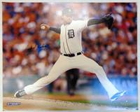 Anibal Sanchez Autographed Detroit Tigers 16x20 Photo #1
