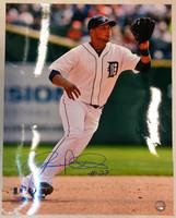Jhonny Peralta Autographed Detroit Tigers 16x20 Photo #2