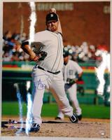 Phil Coke Autographed Detroit Tigers 16x20 Photo