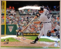 Brennan Boesch Autographed Detroit Tigers 16x20 Photo #1