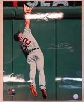 Quintin Berry Autographed Detroit Tigers 16x20 Photo