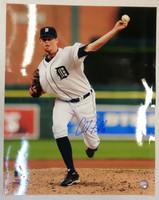 Charlie Furbush Autographed Detroit Tigers 16x20 Photo