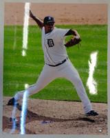 Joaquin Benoit Autographed Detroit Tigers 16x20 Photo