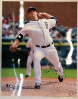 Drew Smyly Autographed Detroit Tigers 16x20 Photo