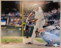 Steven Moya Autographed Detroit Tigers 16x20 Photo