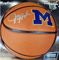 Juwan Howard Autographed UofM Logo Basketball