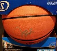 Juwan Howard Autographed I/O Basketball
