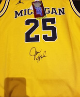 Juwan Howard Autographed UofM Basketball Jersey