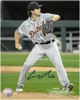 Casey Mize Autographed Detroit Tigers 8x10 #1 - MLB Debut Vertical