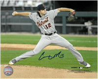 Casey Mize Autographed Detroit Tigers 8x10 #2 - MLB Debut Horizontal