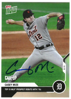 Casey Mize Autographed 2020 Topps NOW Card