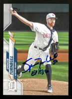 Spencer Turnbull Autographed 2020 Topps Card