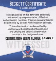 Steve Yzerman Autograph - Add Beckett Authentication (Pre-Order)