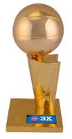 "Ben Wallace Autographed 3-Time NBA Finals Champions 12"" Replica Trophy (Pre-Order)"