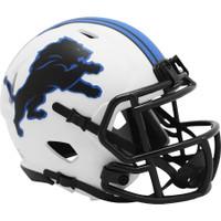 Barry Sanders Autographed Detroit Lions Riddell Lunar Eclipse Mini Football Helmet (Pre-Order)