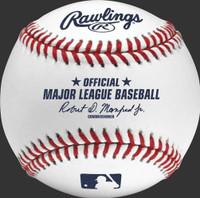 Eric Haase Autographed Official Major League Baseball (Pre-Order)