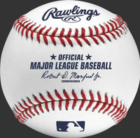 """Eric Haase Autographed Official Major League Baseball with """"Inside The Park HR 7/3/21"""" (Pre-Order)"""
