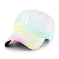 Detroit Tigers 47 Brand Truckin Tye Dye Adjustable Clean Up Hat with White D