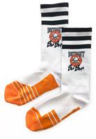 Detroit Bad Boys Classic Crew Socks - White