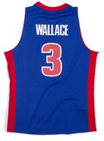Ben Wallace Autographed M&N Swingman Jersey Detroit Pistons 2003-04 (Pre-Order)