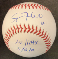"""Spencer Turnbull Autographed Official Major League Baseball w/ """"No Hitter 5/18/21"""""""