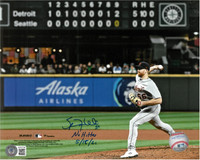 """Spencer Turnbull Autographed Last Out 8x10 Photo w/ """"No Hitter 5/18/21"""""""
