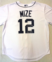 """Casey Mize Autographed Detroit Tigers Jersey w/ """"1st Overall Pick 2018"""""""