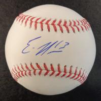 Eric Haase Autographed Baseball - Official Major League Ball