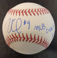 """Willi Castro Autographed Baseball - Official Major League Ball w/ """"MLB Debut 8/24/19"""""""