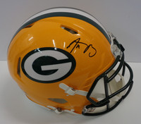 Aaron Rodgers Autographed Green Bay Full Size Authentic Helmet