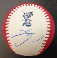 Shohei Ohtani Autographed 2021 HRD Major League Baseball