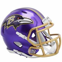 Baltimore Ravens Riddell Flash Speed Mini Helmet (Pre-Order)