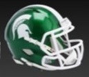 Michigan State Spartans Riddell Flash Full Size Speed Authentic Helmet (Pre-Order)