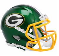Green Bay Packers Riddell Flash Speed Mini Helmet (Pre-Order)