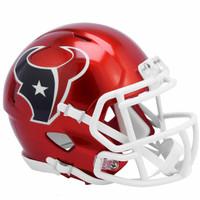 Houston Texans Riddell Flash Speed Mini Helmet (Pre-Order)
