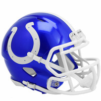 Indianapolis Colts Riddell Flash Speed Mini Helmet (Pre-Order)