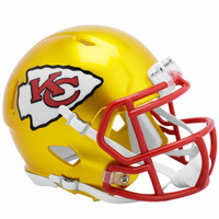 Kansas City Chiefs Riddell Flash Speed Mini Helmet (Pre-Order)