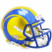 Los Angeles Rams Riddell Flash Speed Mini Helmet (Pre-Order)