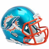 Miami Dolphins Riddell Flash Speed Mini Helmet (Pre-Order)