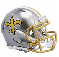 New Orleans Saints Riddell Flash Speed Mini Helmet (Pre-Order)