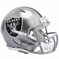 Oakland Raiders Riddell Flash Speed Mini Helmet (Pre-Order)