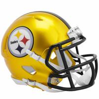 Pittsburgh Steelers Riddell Flash Speed Mini Helmet (Pre-Order)