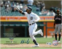 Akil Baddoo Autographed Detroit Tigers 8x10 Photo