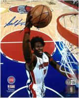 Ben Wallace Autographed Detroit Pistons 8x10 Photo #4