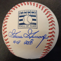 "Goose Gossage Autographed Hall of Fame Logo Baseball w/ ""HOF 2008"""