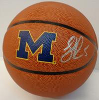 Jalen Rose Autographed UofM Logo Basketball