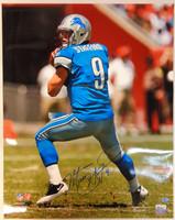 Matthew Stafford Autographed Detroit Lions 16x20 Photo #5
