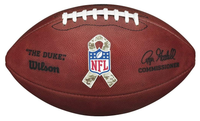 Barry Sanders Autographed Salute To Service Authentic Football (Pre-Order)